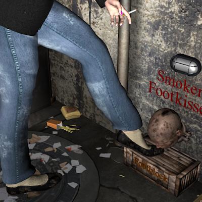 footrest slave lick shoes Bow kiss kneel