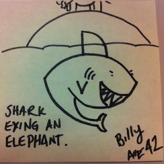 apprendre-a-dessiner-un-requin-2 Comment dessiner un requin