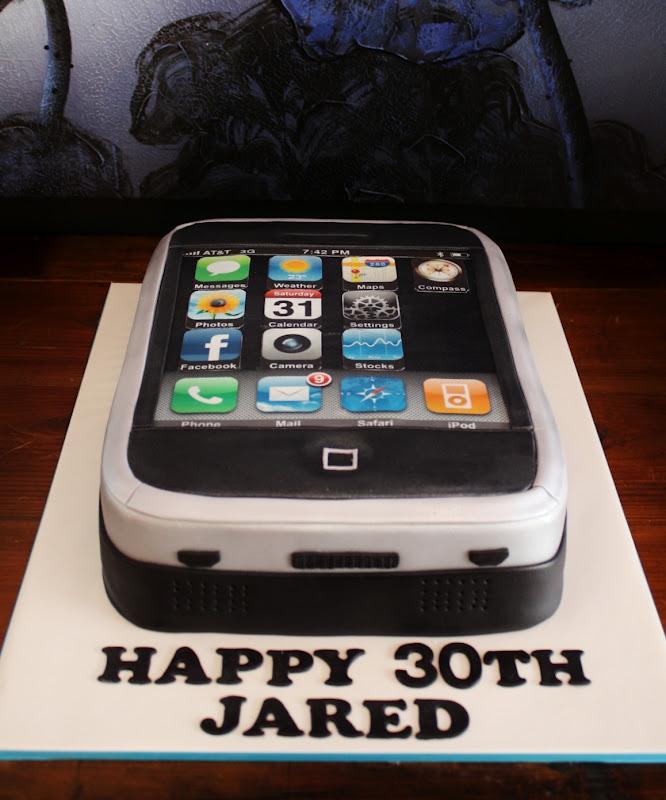 Sandy S Cakes Jared S Iphone Cake