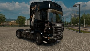 Enfer Skin for Scania R