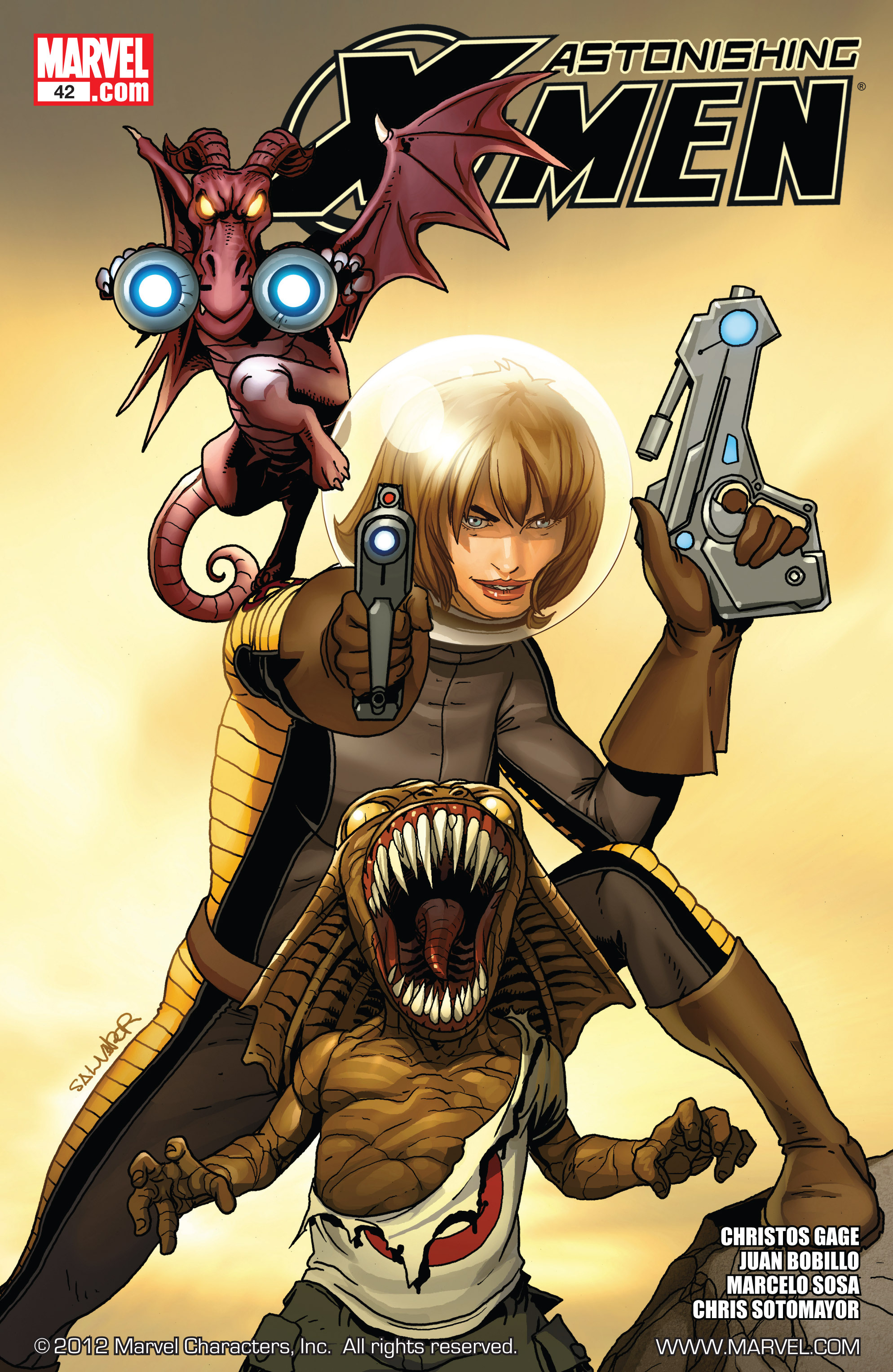 Read online Astonishing X-Men (2004) comic -  Issue #42 - 1