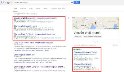 quảng cáo từ khóa Google Adwords  hiệu quả