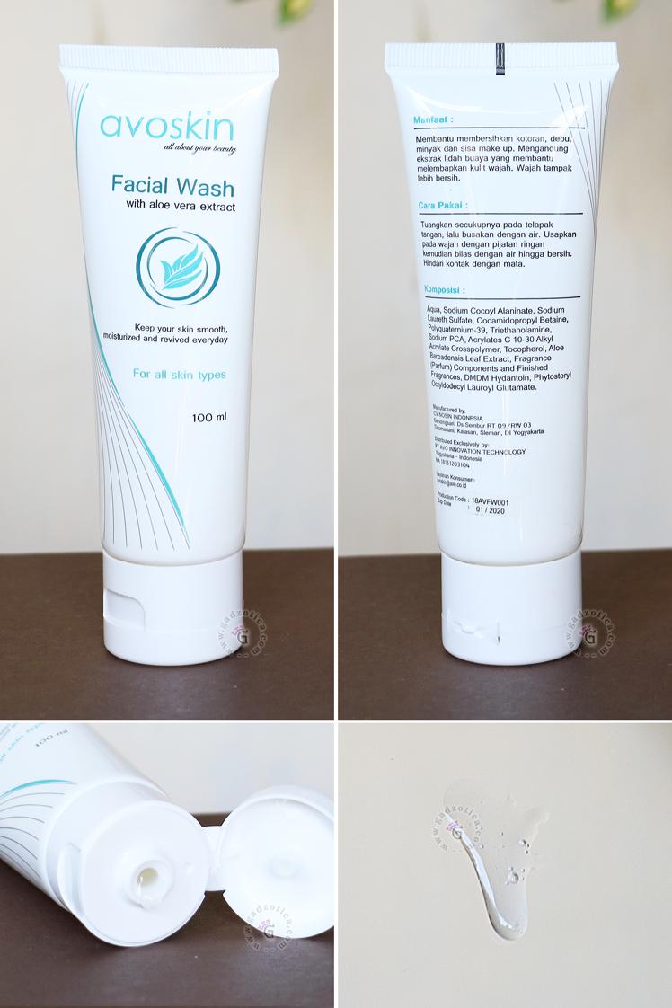 Avoskin Aloe Vera Facial Foam Review