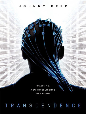 Poster Of Hollywood Film Transcendence (2014) In 300MB Compressed Size PC Movie Free Download At worldfree4u.com
