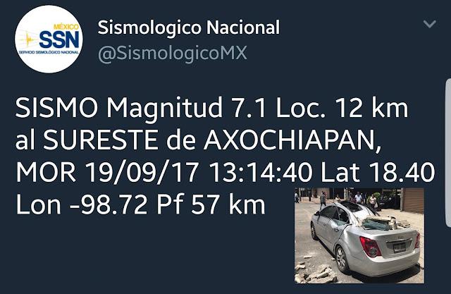 Temblor en la CDMX de 7.2 grados, cayeron edificios en La Condesa. #Video.