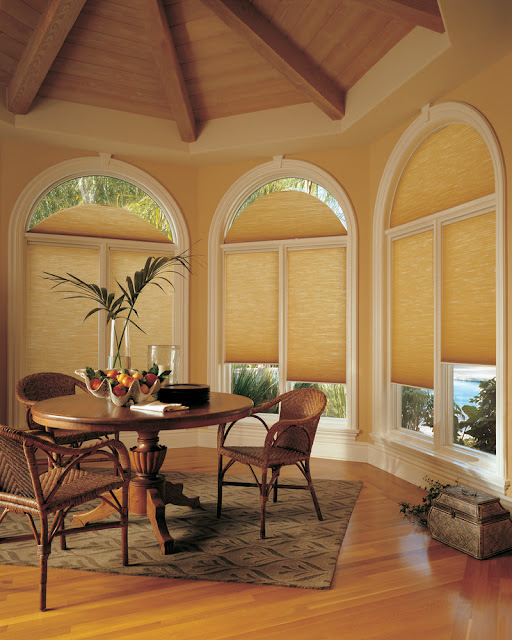 Perfect blinds by the type of room