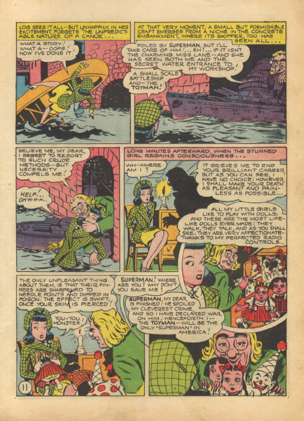 Read online Action Comics (1938) comic -  Issue #64 - 13