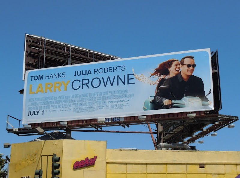 Larry Crowne billboard