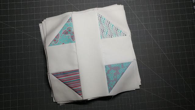 Modern Shoofly quilt block