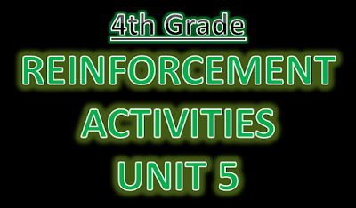 http://englishmilagrosa.blogspot.com.es/2017/01/reinforcement-exercises-4th-grade-unit-5.html