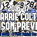 2016-17 A Very Barrie Colts Season Preview. #OHL