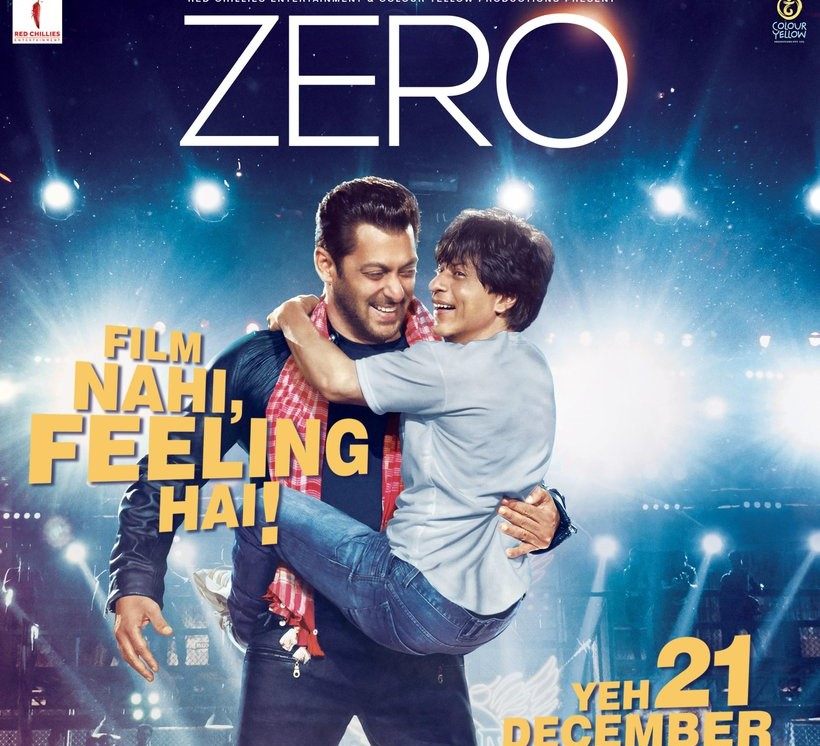 Sharukh Khan and Salman Khan Zero's song, Issaqbaazi, to be out tomorrow!