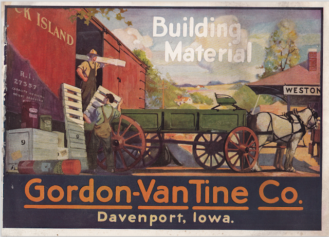 cover of gordon van tine building materials catalog