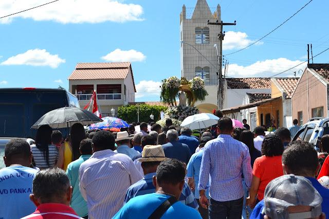 Em Delmiro Gouveia, confira imagens do encerramento dos festejos da Padroeira do Distrito de  Sinimbu