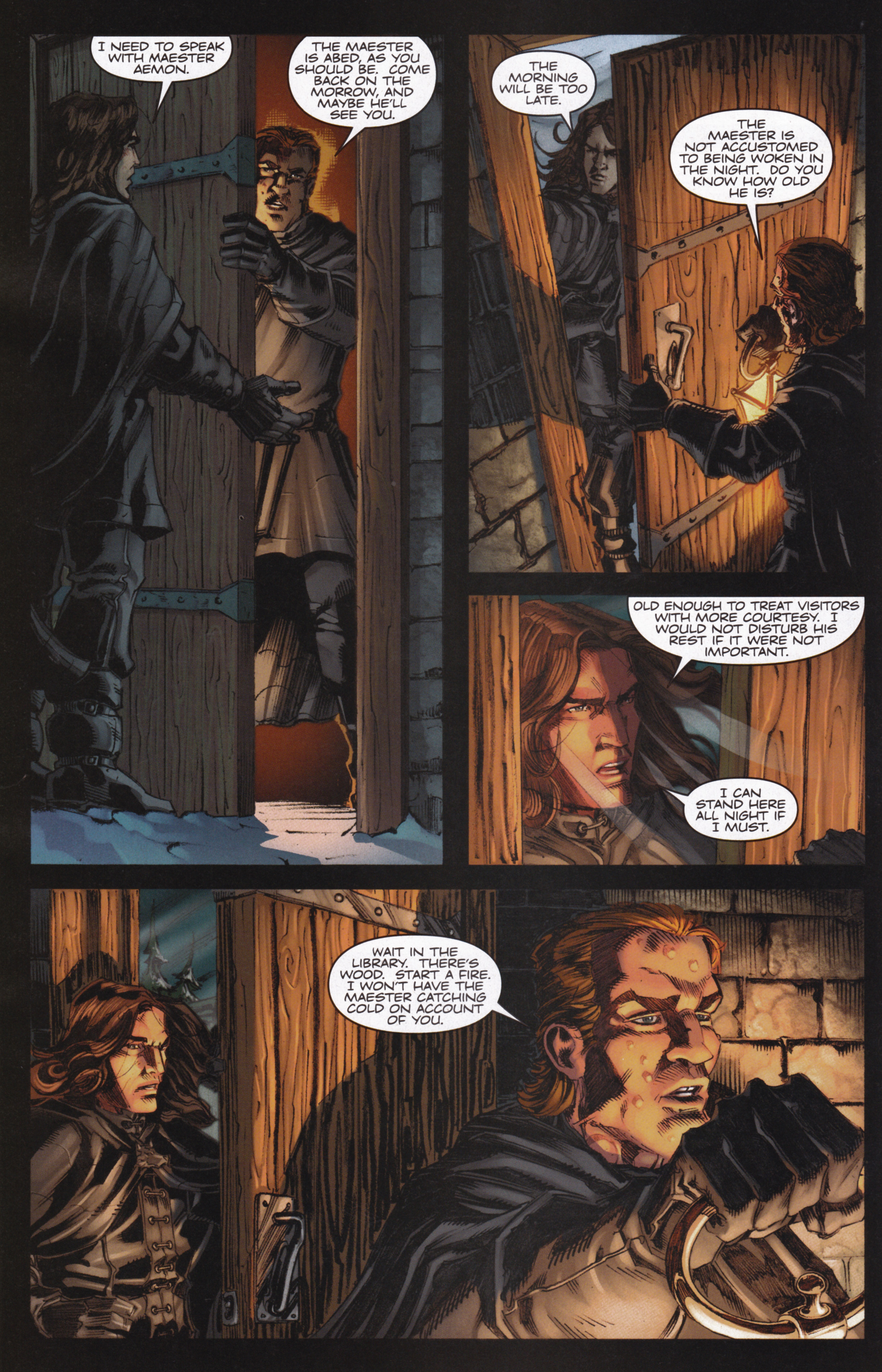 Read online A Game Of Thrones comic -  Issue #13 - 16