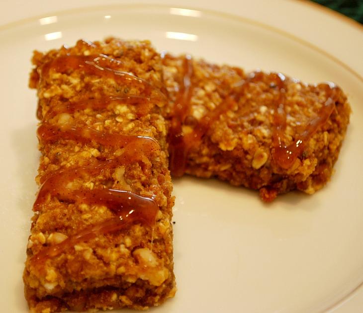 The Peaceful Kitchen: Pumpkin Spice Snack Bar Recipe