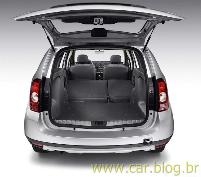Renault Duster 2012 - porta-malas