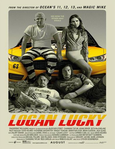 Ver La suerte de los Logan (Logan Lucky) (2017) Online