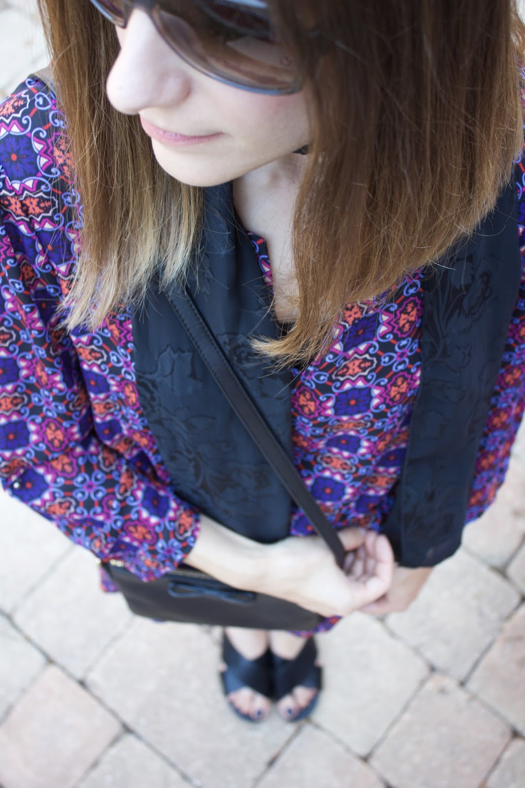 black skinny scarf