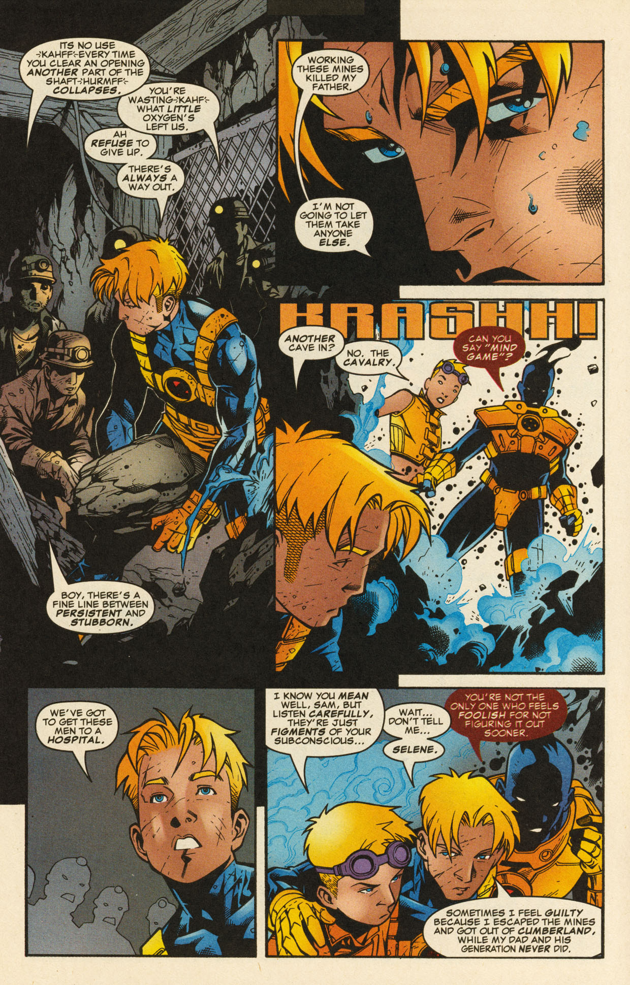 Read online X-Force (1991) comic -  Issue #98 - 17