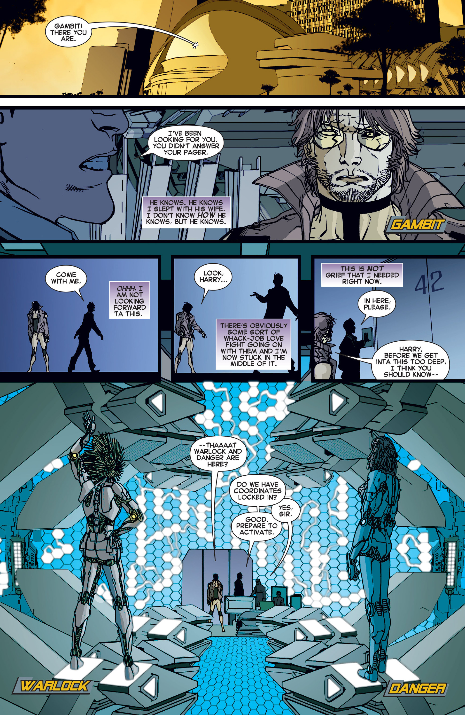 Read online All-New X-Factor comic -  Issue #10 - 11