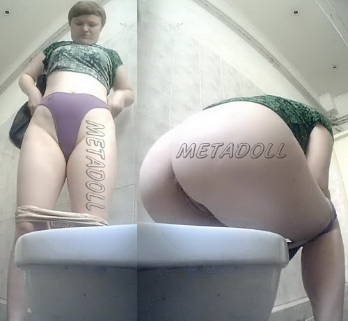 VB Piss 1851-1860 (Female urination in the hospital toilet - spycam)