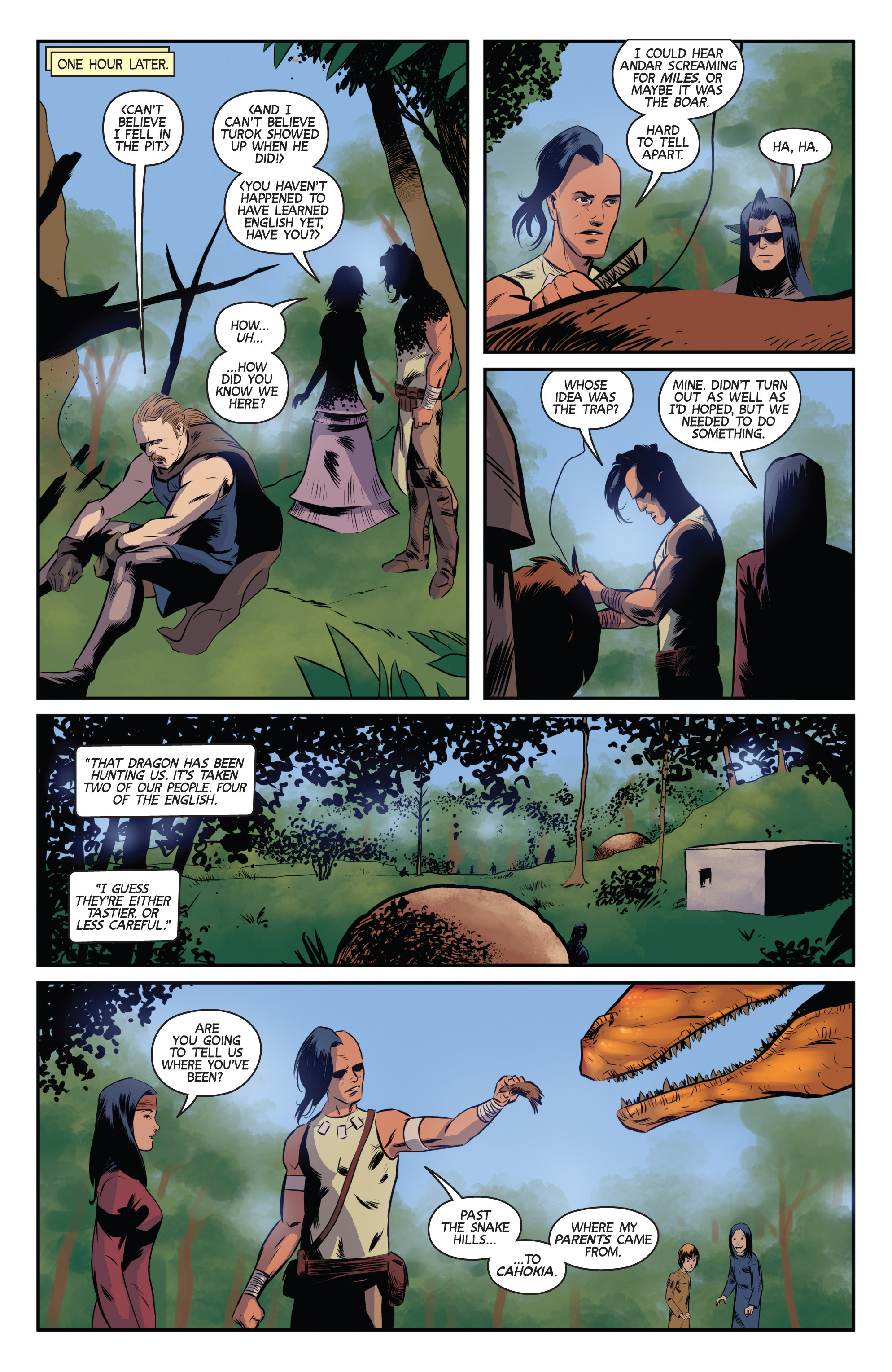 Read online Turok: Dinosaur Hunter (2014) comic -  Issue # _TPB 3 - 9