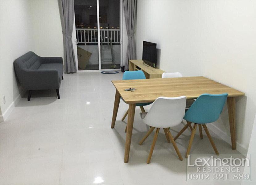 Lexington Residence Q2 cho thuê căn hộ 71m2 tầng 9 chỉ 18tr tháng
