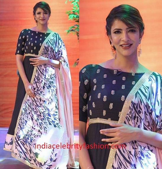Lakshmi Manchu in Mrunalini Rao Design Anarkali