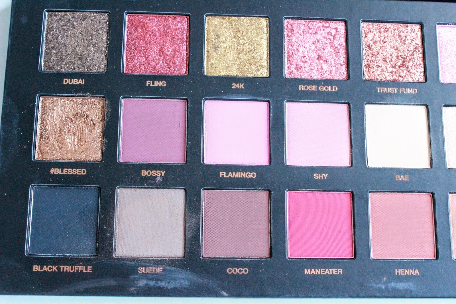 Huda Beauty Rose Gold Palette Review Swatches Katevictoria Xo