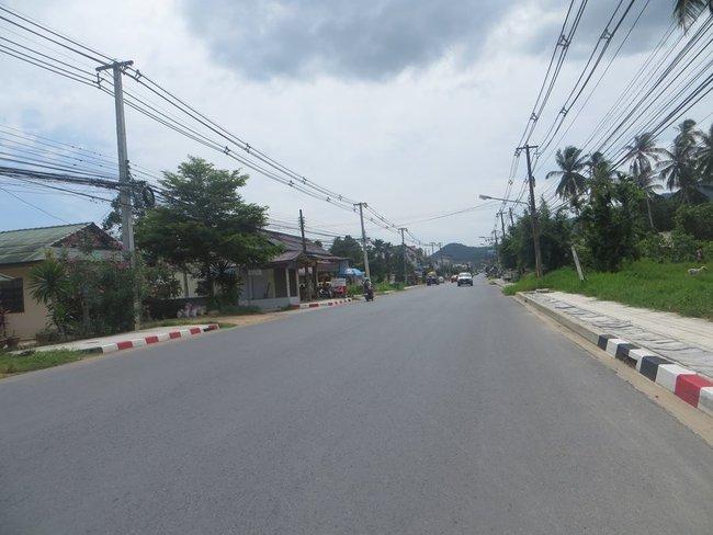 Новая дорога на юге Самуи