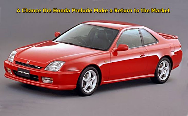 A Chance the Honda Prelude Make a Return to the Market