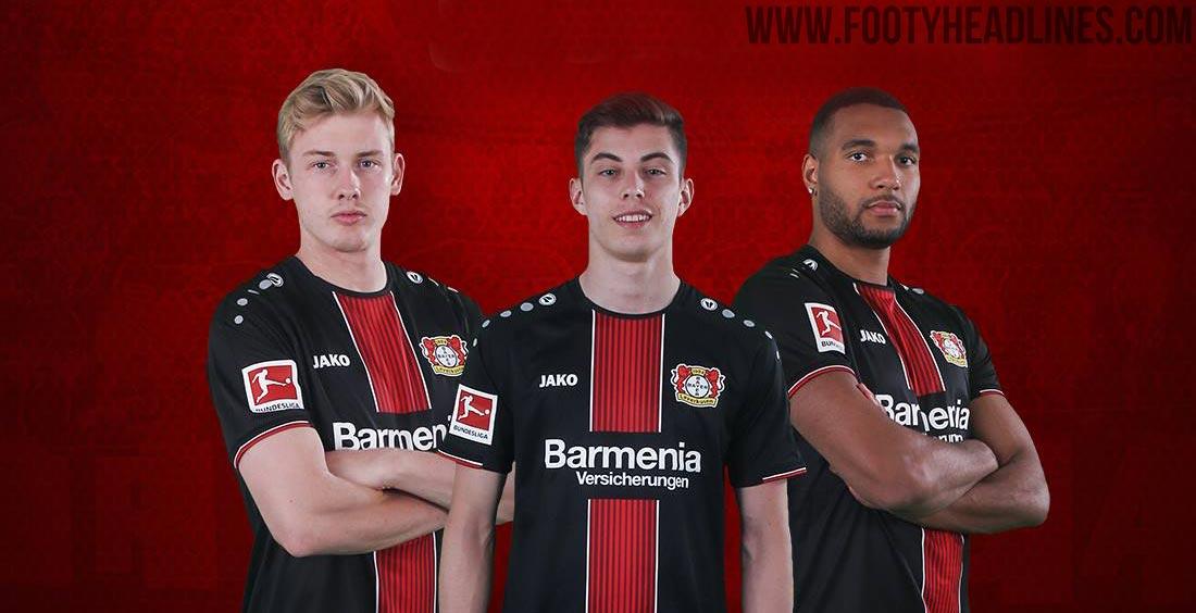 Leverkusen 18-19 Home Kit Released - Footy Headlines