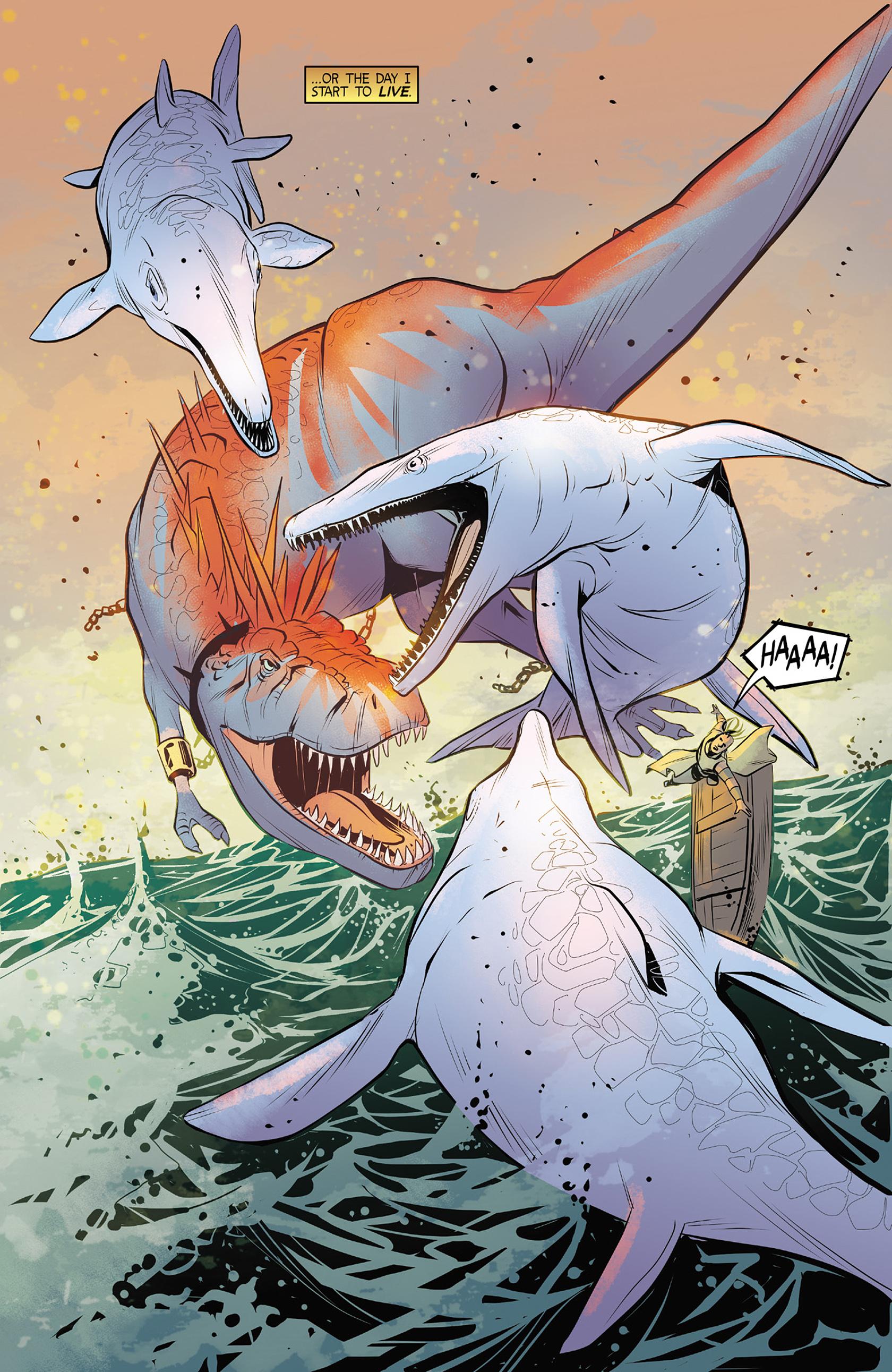 Read online Turok: Dinosaur Hunter (2014) comic -  Issue #4 - 22