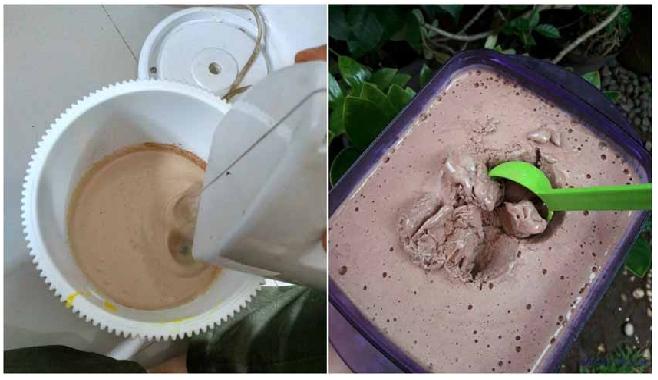 Resep Es Krim 3 Bahan Lembutnya Mirip Es Krim Walls Dan