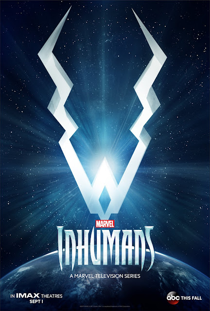 Inhumans A Marvel Television Series Teaser One Sheet TV Poster