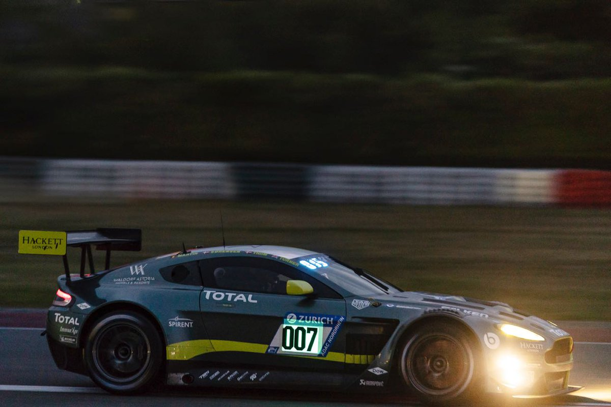 N24 Now Amr S Older V12 Vantage Claims P5 In N24 Qualifying The Advantage