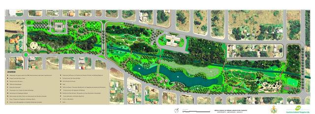 Ilha Comprida inicia a obra do Parque Linear do Rio Candapuí em área de 150 mil metros quadrados