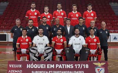 Benfica Hóquei Patins Plantel