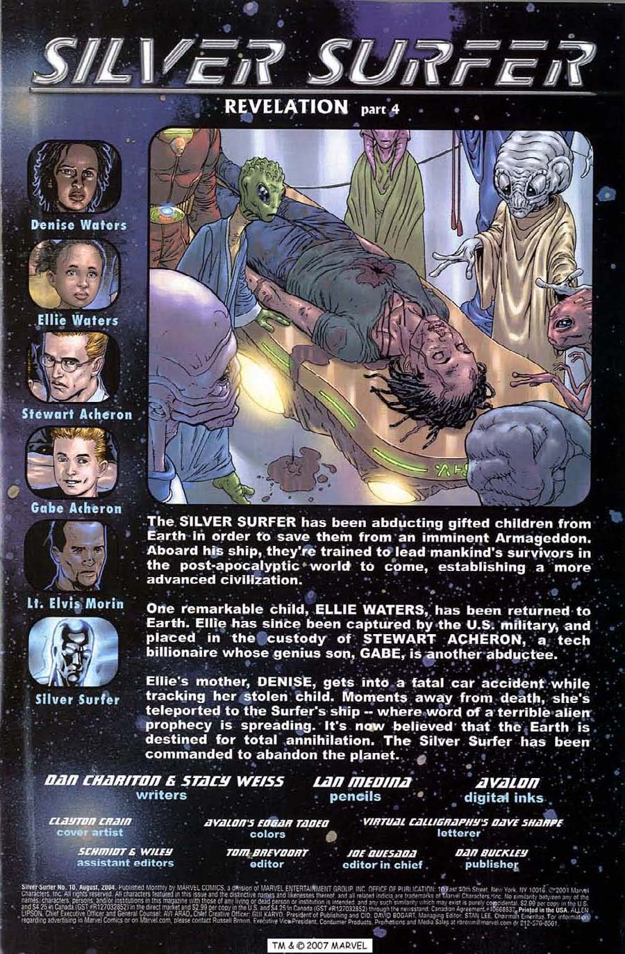 Read online Silver Surfer (2003) comic -  Issue #10 - 3