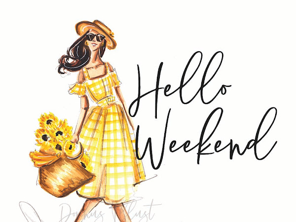Daily Illustration: Hello Weekend