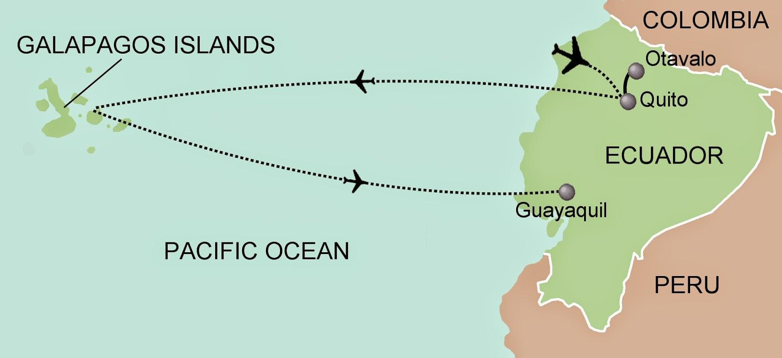 Galapagos On World Map.Map Galapagos Islands Free Printable Maps
