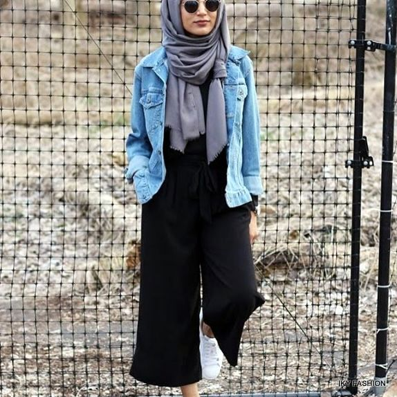model Gaya Hijabers Casual Outer trend sekarang