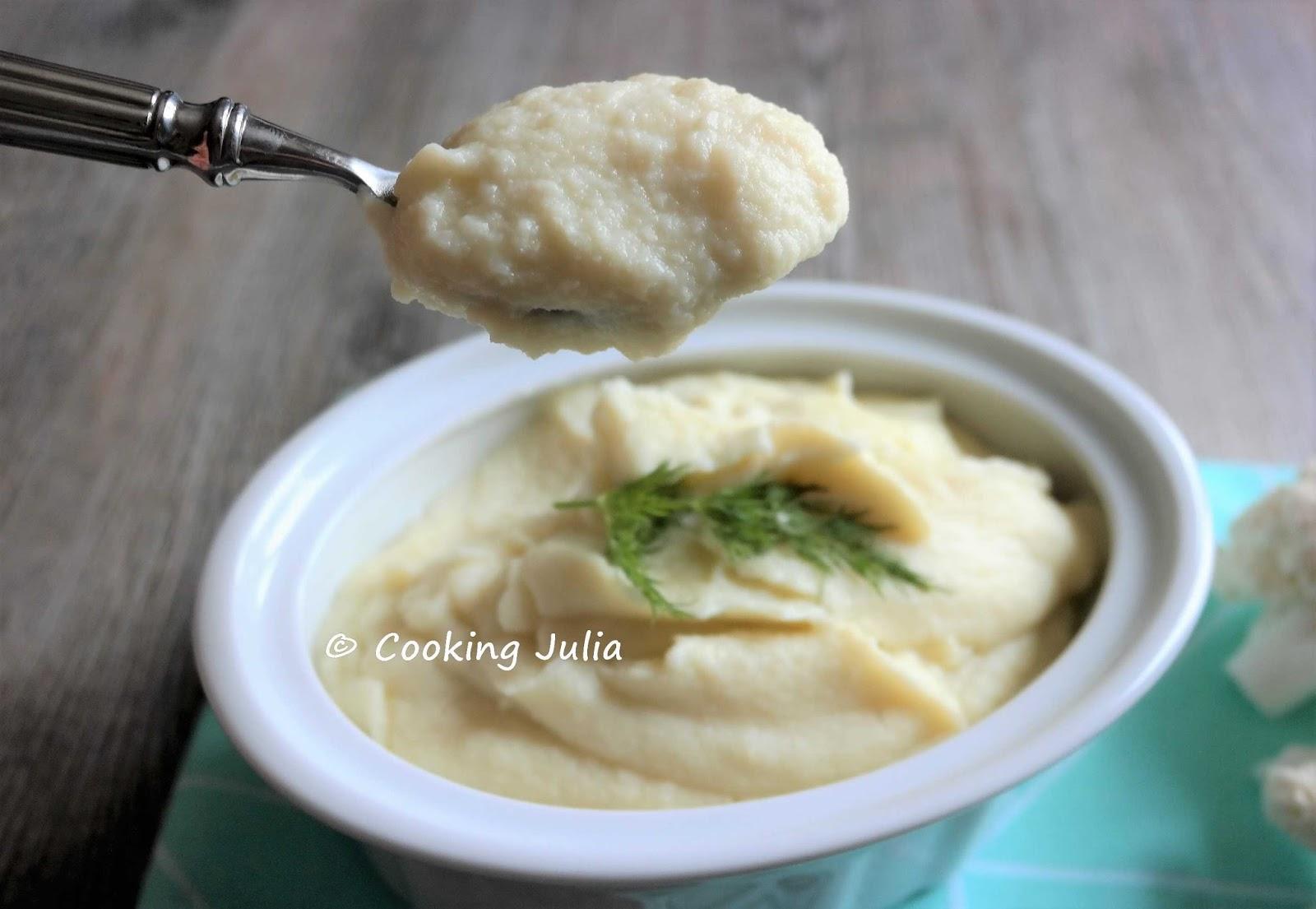 Cooking Julia Puree De Chou Fleur
