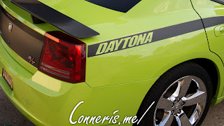 Dodge Charger Daytona Lime Green