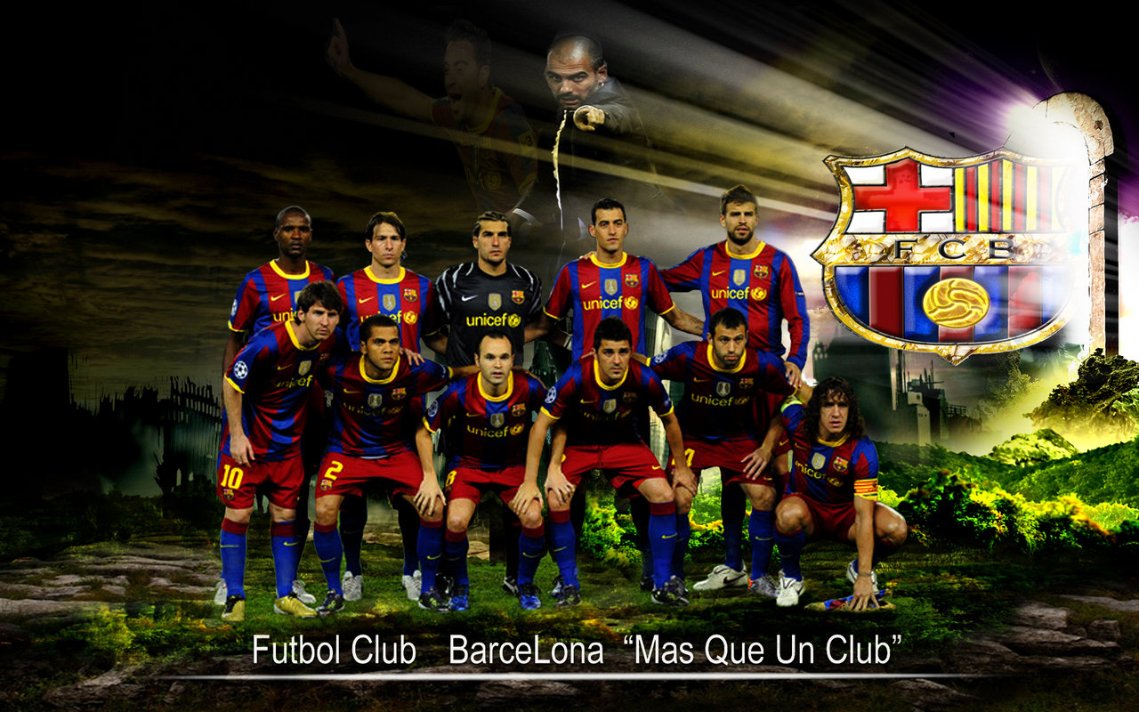 FC Barcelona 2012 Team