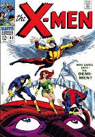 X-men v1 #49 marvel comic book cover art by Jim Steranko