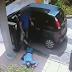Câmera de segurança registra momento de assalto onde policial reage e mata bandido, assista