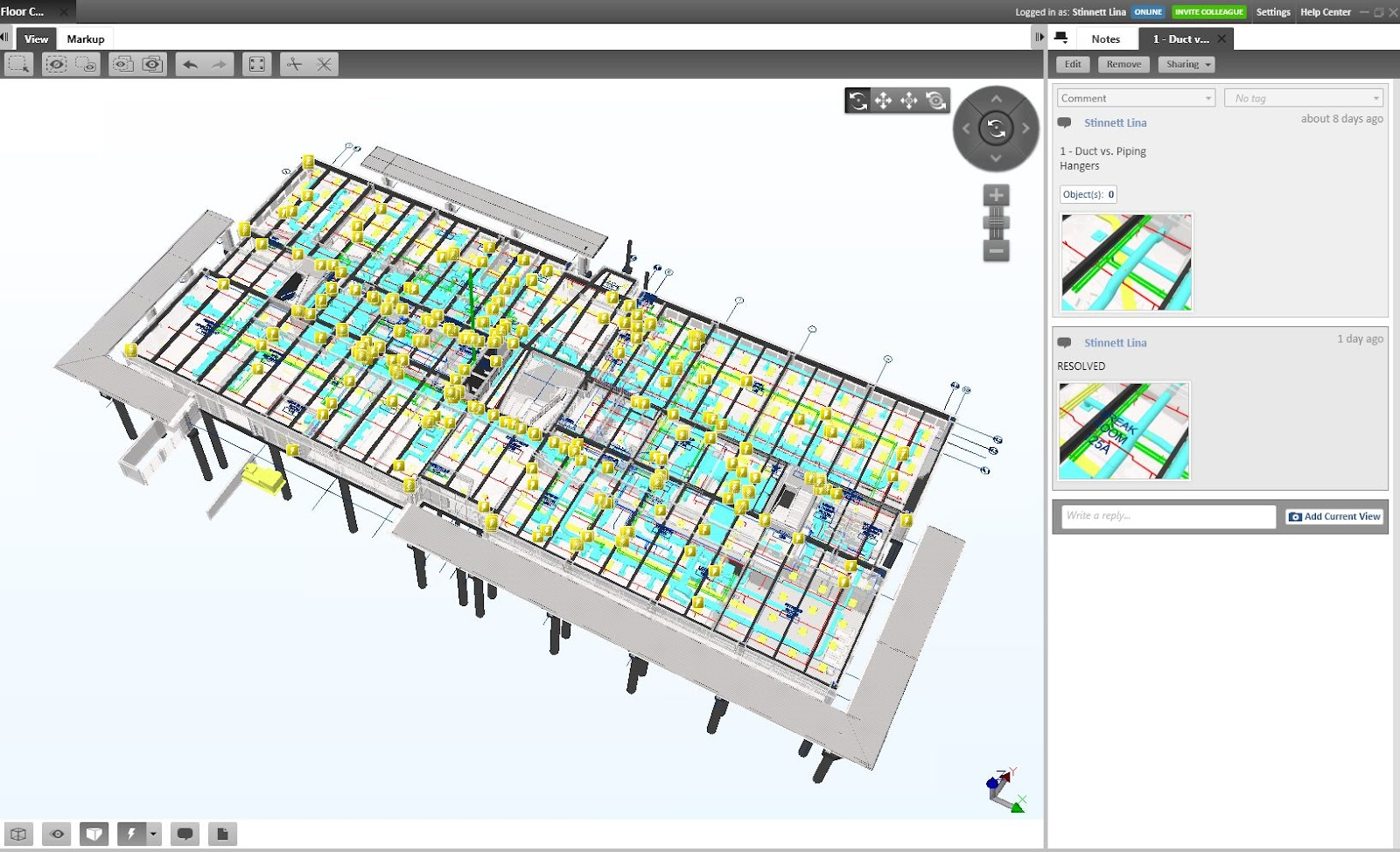 Using Tekla BIMsight For Model Review and Coordination