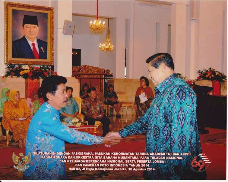 sby mengundang teladan nasional dan keluarga berencana nasional ke istana negara